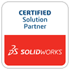 SOLIDWORKS Solution Partner logo