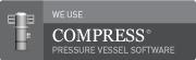 We use COMPRESS ASME VIII pressure vessel software.