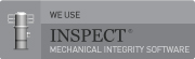 We use INSPECT mechanical integrity software.