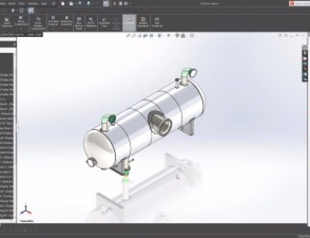 Create Pressure Vessel Drawings in SOLIDWORKS