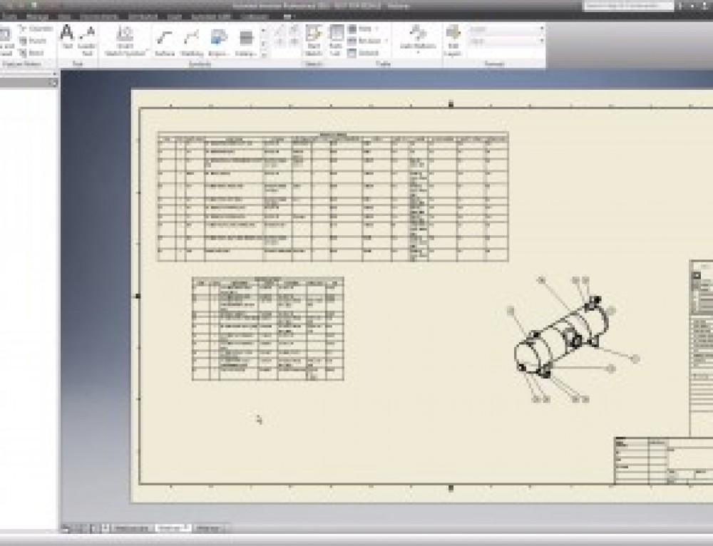 Create Pressure Vessel Drawings in Inventor