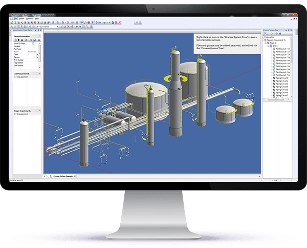 INSPECT Features API 579-1 Fitness-For-Service (FFS), 3D Plant Modeling, Pressure Vessel Re-rating and Inspection Data Management (IDMS)