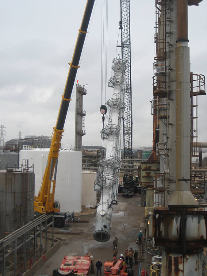 Installation of a COMPRESS Designed Tall Tower