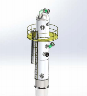 Pressure Vessel SM Exported from COMPRESS to SOLIDWORKS