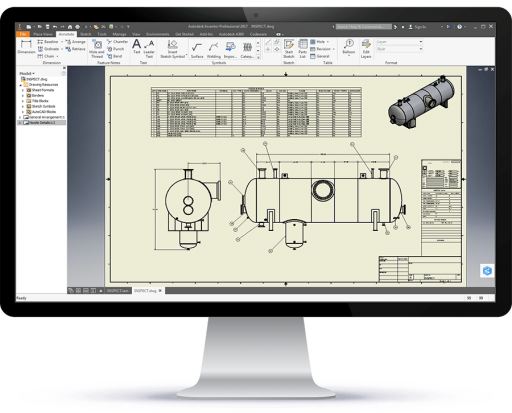 The CWI turns COMPRESS designs into fabrication drawings using Inventor and is included at no additional cost.
