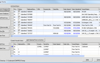 COMPRESS Forms Management Interface