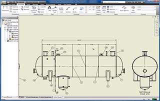 Pressure vessel drawings from COMPRESS models using Inventor Webinar