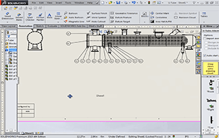 Create pressure vessel drawings from COMPRESS models using SOLIDWORKS