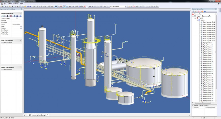 INSPECT 2017 Mechanical Integrity and API 579-1 FFS software now offers 3D plant modeling for Inspection and Reliability Engineers