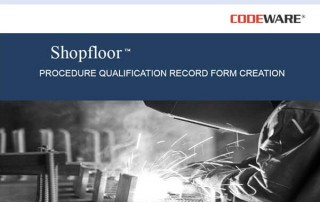 Shopfloor - PQR Creation