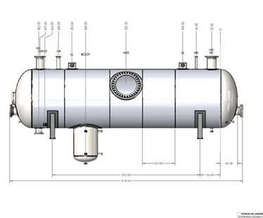 Export pressure vessels into 3D CAD applications such as SOLIDWORKS and Autodesk Inventor