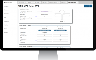 Shopfloor WPQ Forms WPS