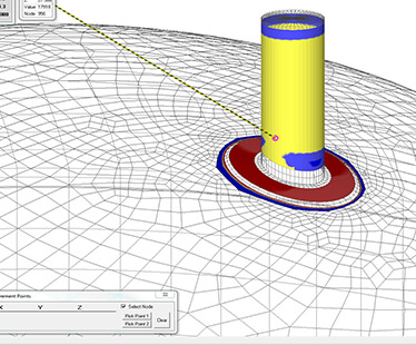FEA nozzle fatigue analysis in COMPRESS