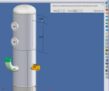 Pressure vessel quick design mode in COMPRESS
