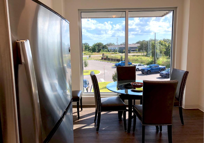 Upstairs Breakroom in Codeware's new Corporate Headquarters
