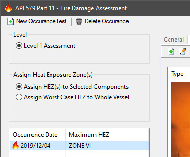 API 579-1 Part 11 Fire Damage Assessments
