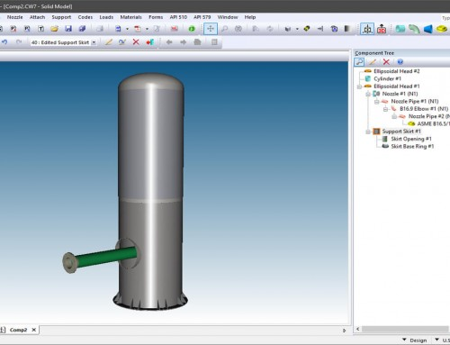 Nozzle Extensions Made From Pipe Components
