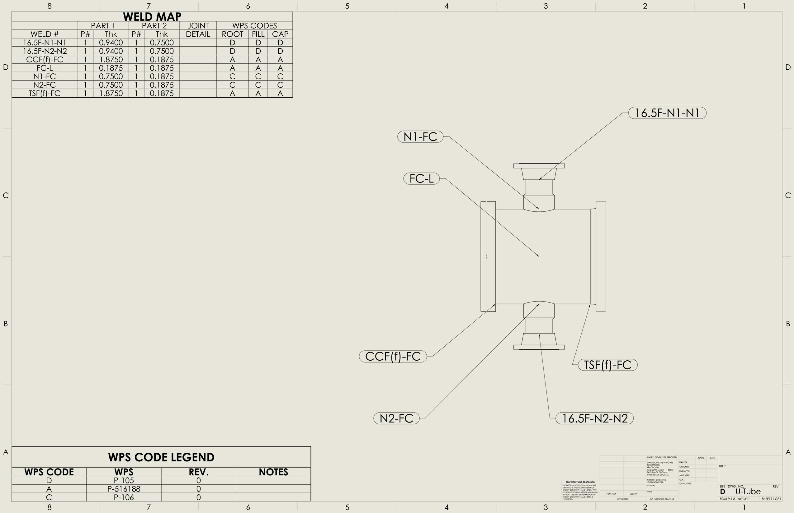 Shopfloor Integrates With COMPRESS and SolidWorks to Generate Drawings and Weld Maps Automatically