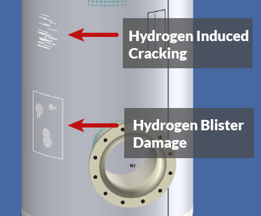 API 579-1 Part 7 Hydrogen Cracking and Blister Damage
