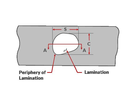 API 579-1 Parte 13 Laminación en INSPECT