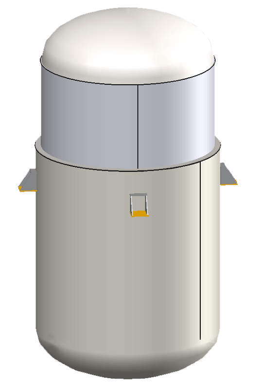 Type 2 Jacketed Vessel in COMPRESS