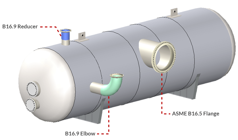 Nozzle Connections in COMPRESS