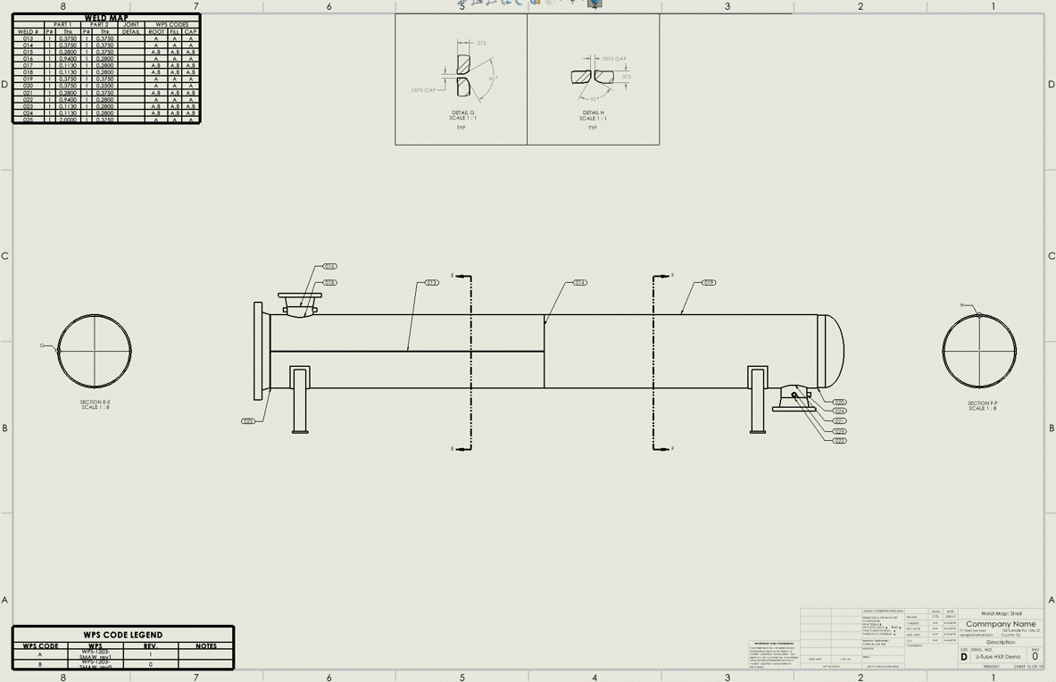 CWI + Shopfloor Weld Map and Joint Details in SOLIDWORKS