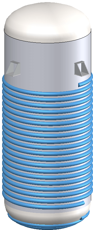 An Appendix 9 Half Pipe Jacketed Vessel in COMPRESS